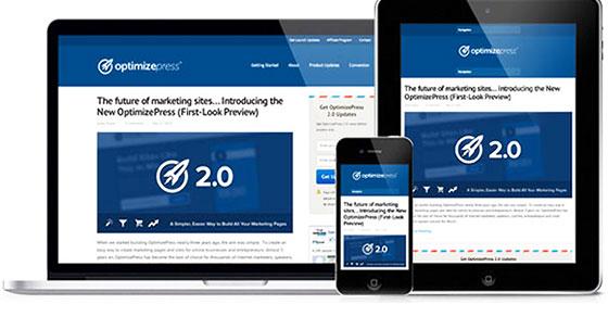 OptimizePress: Il Più Potente Tool Di WordPress Per Creare Landing Pages, Pagine Di Vendita e Aree Membri.