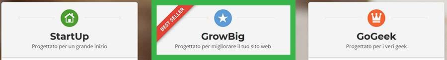 siteground hosting prezzi italia