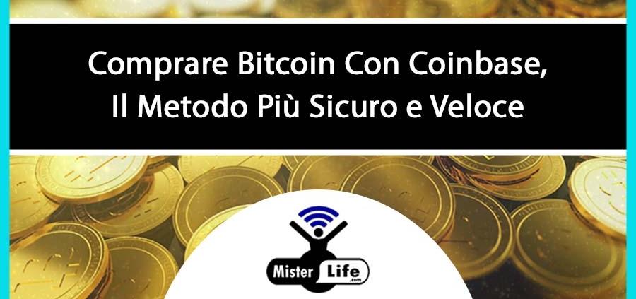 Come comprare bitcoin con coinbase